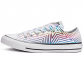 All Star Exploding Star White Low Top 0