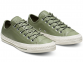 All Star Leather Olive Low Top 0