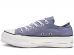 All Star Platform Blue Low-Top 0