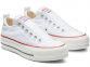 All Star Platform White Low Top 1