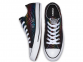 All Star Exploding Star Black Low Top 3