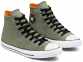 All Star Space Explorer Olive High Top 0