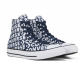 All Star High Logo Blue White 2