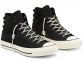 Chuck 70 Nubuck Leather Black High Top 0