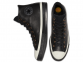 Chuck 70 Waterproof GORE-TEX Leather Black High Top 3