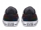 All Star Exploding Star Black Low Top 2
