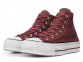 All Star Canvas Rust Platform High Top 1