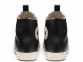 All Star Desert Storm Black Leather High Top 2