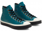 Chuck 70 Waterproof GORE-TEX Leather Green High Top 2
