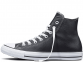 All Star Black Leather High 0