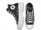 All Star Lugged Leather Black Hi Top 3
