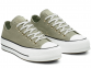 All Star Platform Olive Low-Top 0