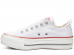 All Star Platform White Low Top 0