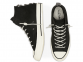 Chuck 70 Nubuck Leather Black High Top 2