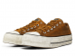 All Star Canvas Rust Platform Brown Low Top 1