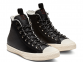 All Star Desert Storm Black Leather High Top 0