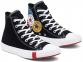 Unisex Logo Play Chuck Taylor All Star Black High Top 1