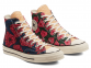 Chuck 70 Unisex Culture Weave Flowers High Top 2