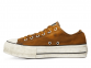 All Star Canvas Rust Platform Brown Low Top 0