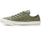 All Star Leather Olive Low Top 1