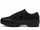 One Star Lugged Black Low Top 0