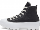 All Star Lugged Leather Black Hi Top 0