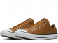 All Star Leather Brown Low Top 1
