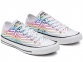 All Star Exploding Star White Low Top 1