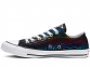 All Star Exploding Star Black Low Top 0