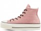 All Star Sherpa Chuck Platform Dusk High Top 0
