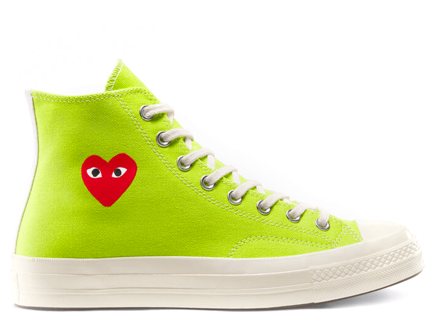 Comme Des Garcons Acid Lime Green High