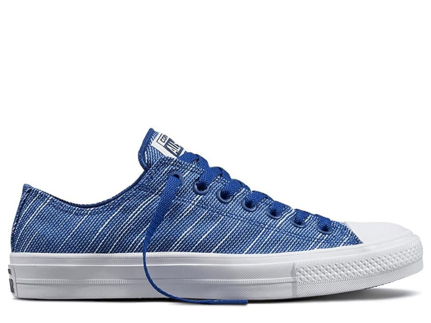 Chuck II Roadtrip Blue Knit Low