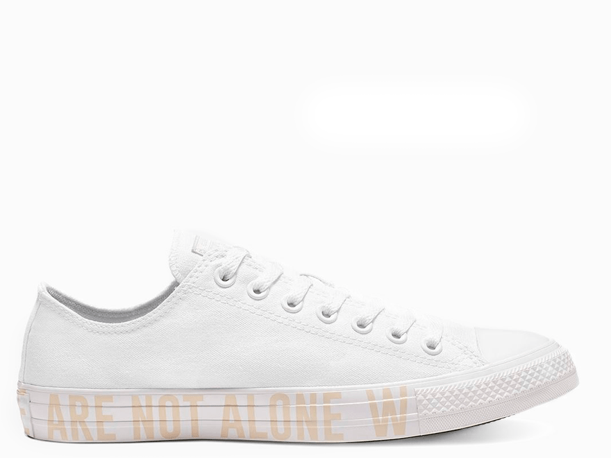 All Star Stargazer White Low Top