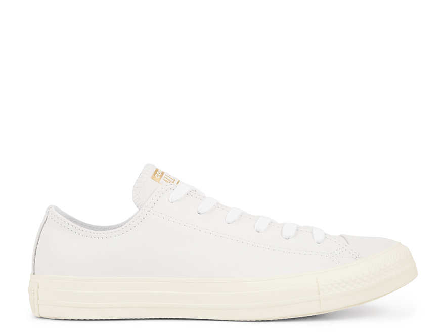All Star Minimalism Leather White Low-Top