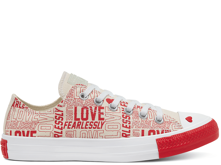 All Star Love Fearlessly Low Top