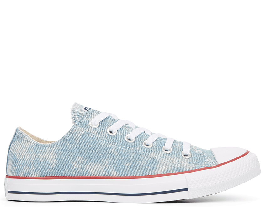 All Star Washed Denim Low-Top