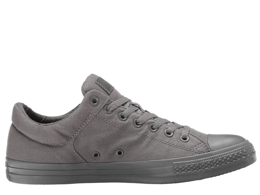 All Star Street Mono Canvas Ox Gray Low