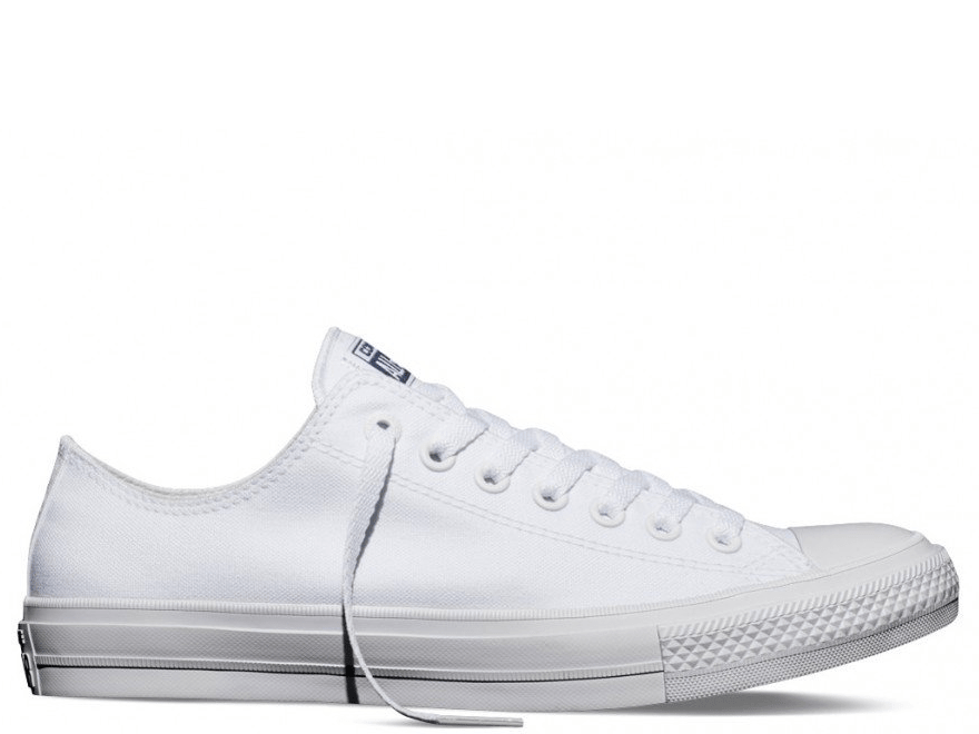 Chuck II Mono White Low