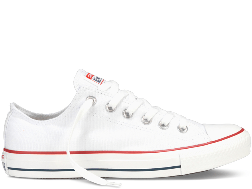 All Star Optical White Low