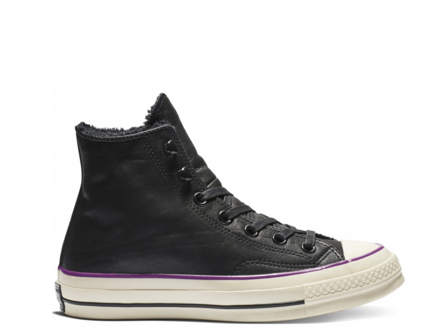 Chuck 70 Warmer High Leather Black