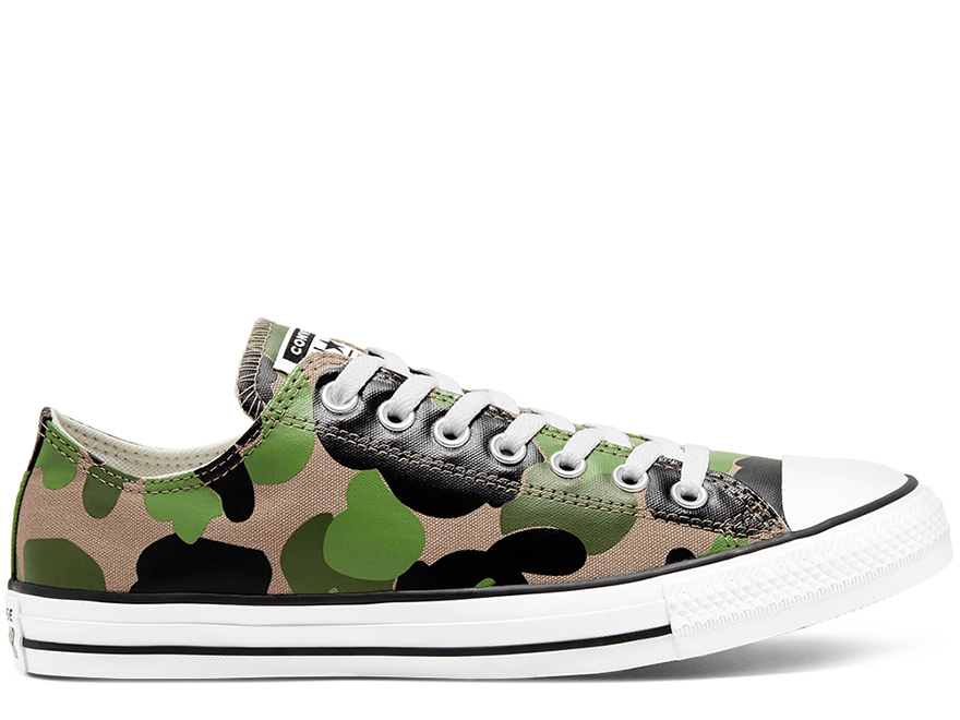 All Star Archival Camo Low Top