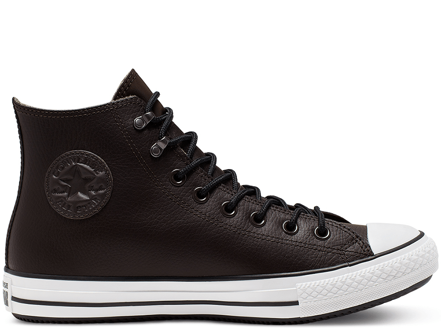All Star Winter Black High Top