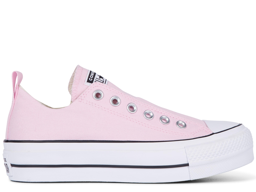 All Star Platform Pink Low Top