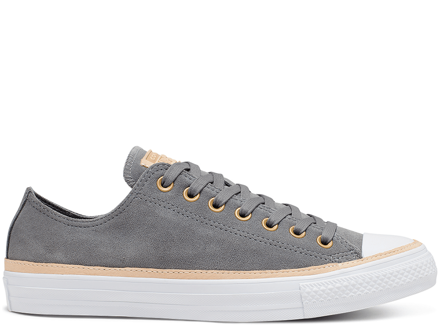 All Star Vachetta Leather Trim Low Top