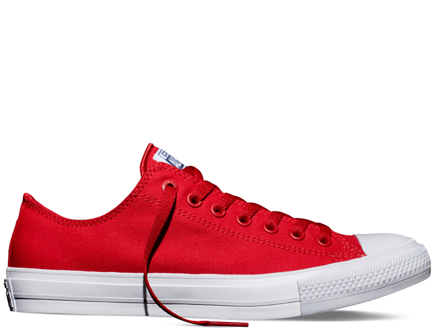 Chuck II Salsa Red Low