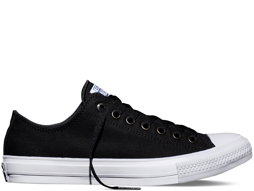 Chuck II Black Low