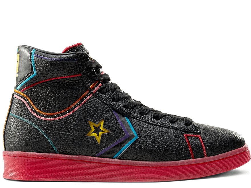 Chinese New Year Pro Leather High Top