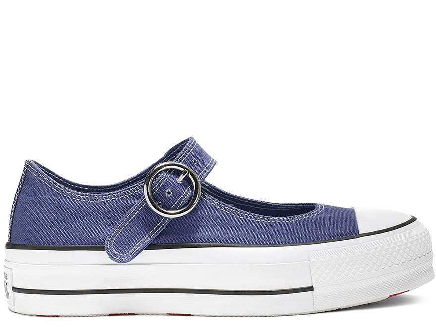 All Star Mary Jane Blue Low Top