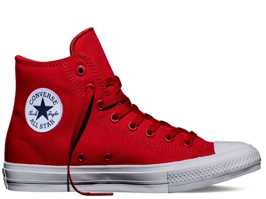 Chuck II Salsa Red High