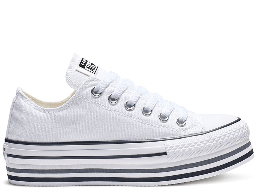 All Star White Platform